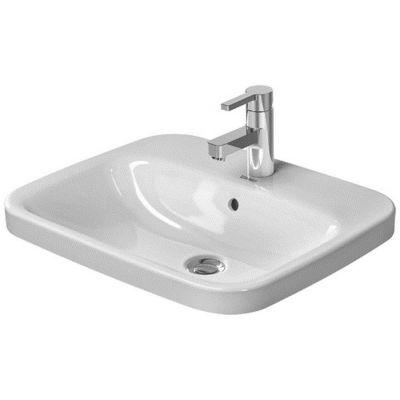 Duravit DuraStyle umywalka 56x45,5 cm wpuszczana w blat prostokątna WonderGliss biała 03745600001