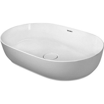 Duravit Luv umywalka 60x40 cm nablatowa owalna biała 0379600000