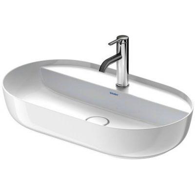 Duravit Luv umywalka 70x40 cm nablatowa owalna WonderGliss biała 03807000001