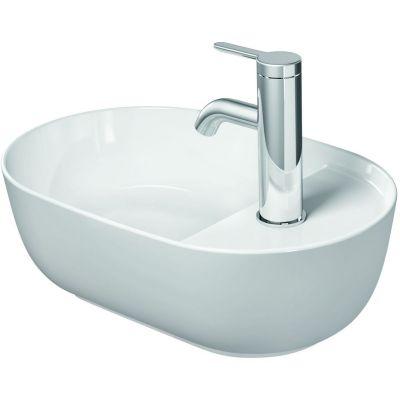 Duravit Luv umywalka 42x27 cm nablatowa owalna biała 0381420000