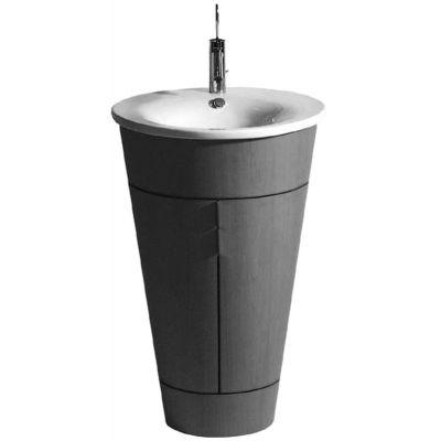 Duravit Starck 1 umywalka 58 cm meblowa okrągła biała 0406580000