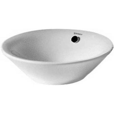 Duravit Starck 1 umywalka 53 cm nablatowa okrągła biała 0408530000