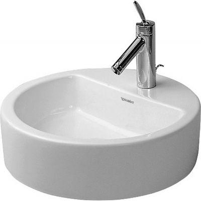 Duravit Starck 1 umywalka 48 cm nablatowa okrągła biała 0446480000
