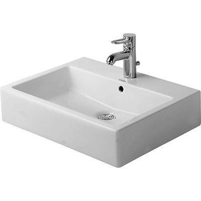 Duravit Vero umywalka 50x47 cm nablatowa prostokątna biała 0452500000