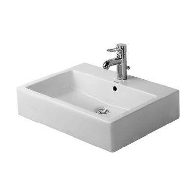 Duravit Vero umywalka 60x47 cm szlifowana biała WonderGliss 04546000271
