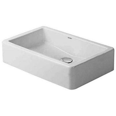 Duravit Vero umywalka 60x38 cm nablatowa prostokątna biała 0455600000