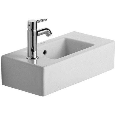 Duravit Vero umywalka 50x25 cm meblowa prostokątna biała 0703500009