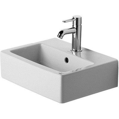 Duravit Vero umywalka 45x35 cm meblowa prostokątna biała 0704450000