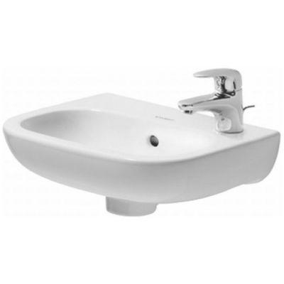 Duravit D-Code umywalka 36x27 cm ścienna półokrągła biała 07053600002
