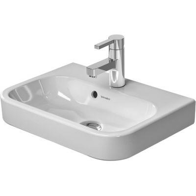 Duravit Happy D.2 umywalka 50x36 cm meblowa półokrągła biała 0710500000