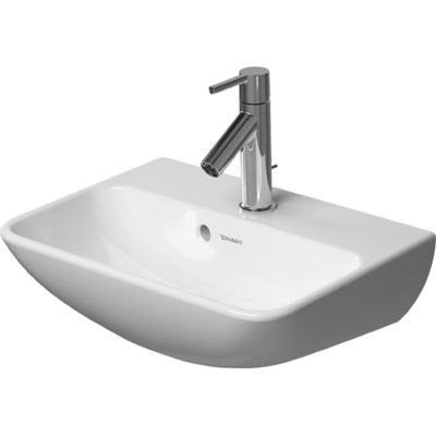Duravit ME by Starck umywalka 45x32 cm ścienna prostokątna biała 0719450000