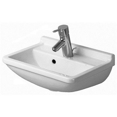 Duravit Starck 3 umywalka 45x32 cm ścienna prostokątna biała 0750450000
