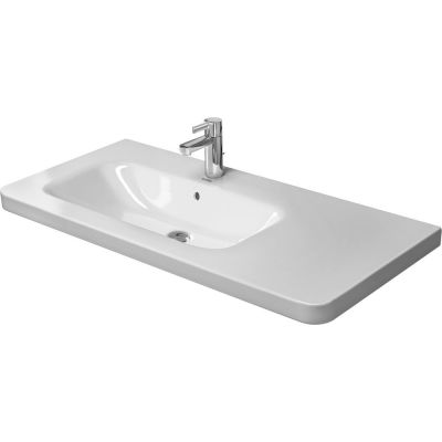 Duravit DuraStyle umywalka 100x48 cm prostokątna lewa biała  2325100060