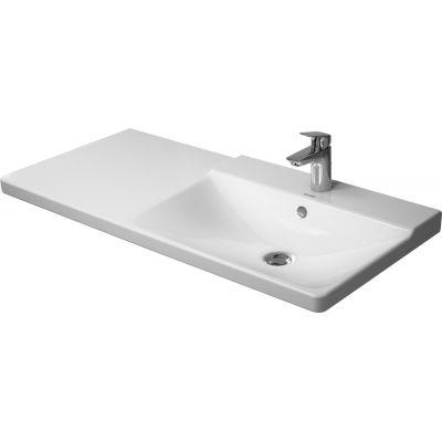 Duravit P3 Comforts umywalka 105x49,5 cm prostokątna prawa biała 2334100000