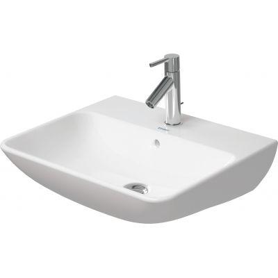 Duravit ME by Starck umywalka 55x44 cm ścienna prostokątna biała 2335550000