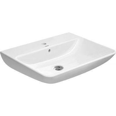 Duravit ME by Starck umywalka 65x49 cm ścienna prostokątna biała 2335650030