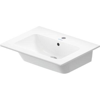 Duravit ME by Starck umywalka 63x49 cm prostokątna biała 2336630000