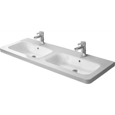 Duravit DuraStyle umywalka 130x48 cm meblowa prostokątna podwójna biała 2338130000