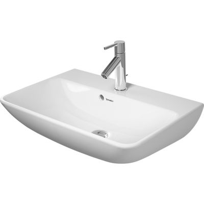 Duravit ME by Starck Compact umywalka 60x40 cm ścienna prostokątna biała 2343600000