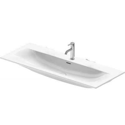 Duravit Viu umywalka 123x49 cm meblowa prostokątna biała 2344120000