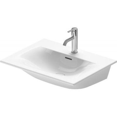 Duravit Viu umywalka 63x49 cm meblowa prostokątna biała 2344630000