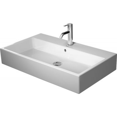 Duravit Vero Air umywalka 80x47 cm meblowa prostokątna biała 2350800000