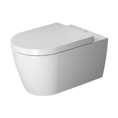 Zestaw Duravit ME by Starck miska WC wisząca Rimless z deską wolnoopadającą (2529090000, 0020090000)
