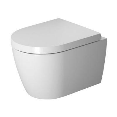 Zestaw Duravit ME by Starck miska WC Rimless wisząca z deską wolnoopadającą (2530090000, 0020190000)