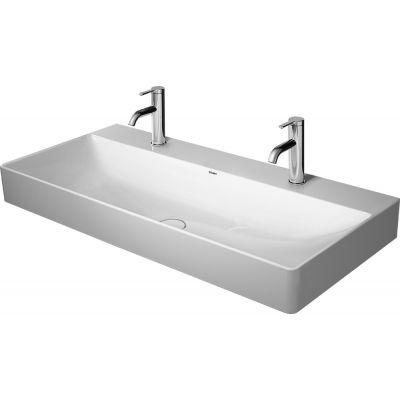 Duravit DuraSquare umywalka 100x47 cm meblowa prostokątna WonderGliss biała 23531000431