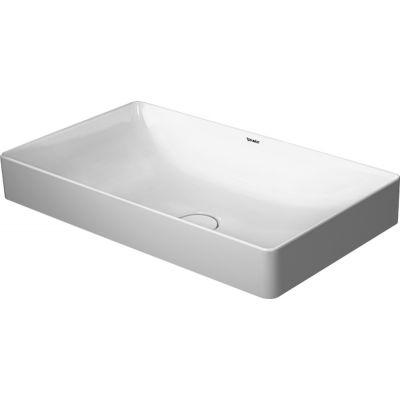 Duravit DuraSquare umywalka 60x34.5 cm nablatowa prostokątna biała 2355600000