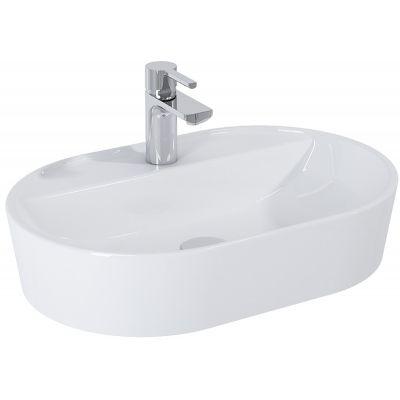 Elita Babette umywalka 61x41 cm nablatowa owalna biała 145079