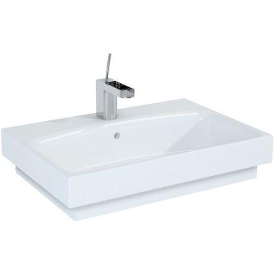 Elita Luna umywalka 62x43 cm meblowa prostokątna biała 145073