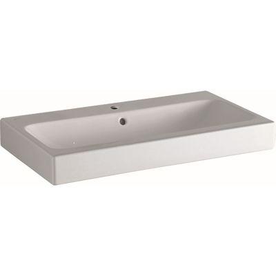 Geberit iCon umywalka 75x48 cm nablatowa prostokątna biała 124575000
