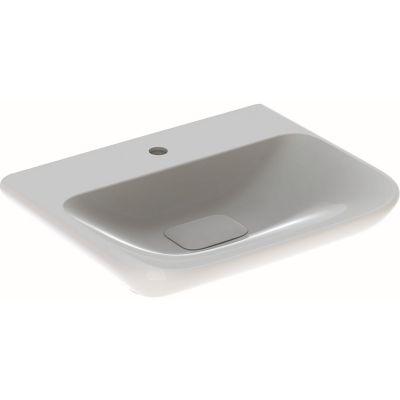 Geberit myDay umywalka 60x48 cm prostokątna biała 125460600