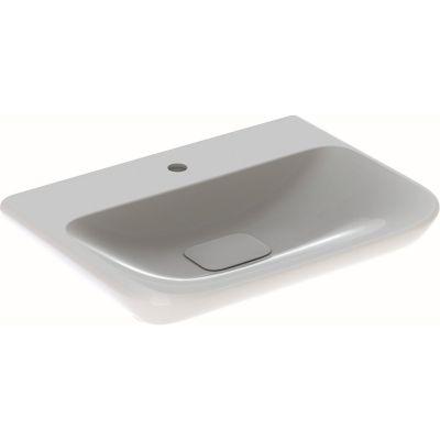 Geberit myDay umywalka 65x48 cm prostokątna biała 125465600