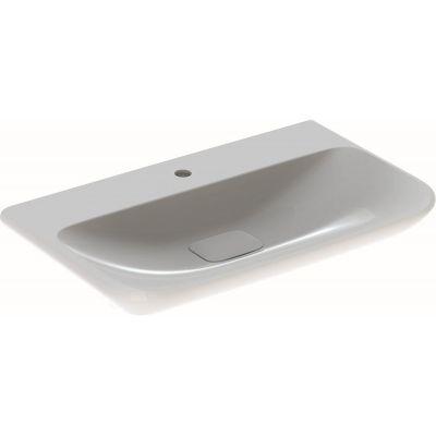 Geberit myDay umywalka 80x48 cm prostokątna biała 125480600