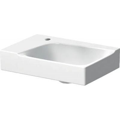 Geberit Xeno2 umywalka 40x28 cm prostokątna lewa biała 500.528.01.1