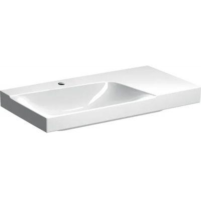 Geberit Xeno2 umywalka 90x48 cm ścienna prostokątna prawa biała 500.533.01.1