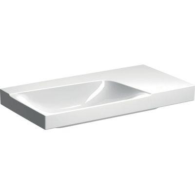 Geberit Xeno2 umywalka 90x48 cm ścienna prostokątna prawa biała 500.534.01.1