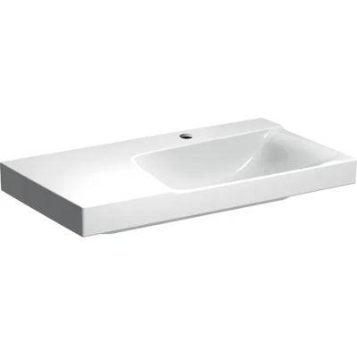 Geberit Xeno2 umywalka 90x48 cm ścienna prostokątna lewa biała 500.535.01.1