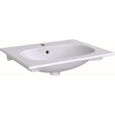 Geberit Acanto umywalka 60x48 cm meblowa prostokątna biała 500.640.01.2