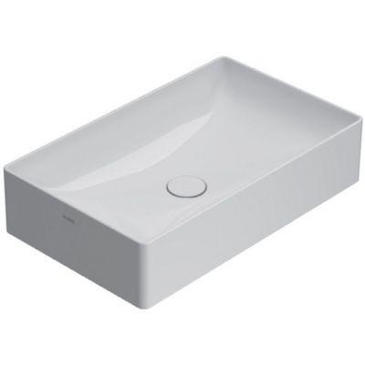 Globo T-edge umywalka 61x37 cm nablatowa biała B6R63.BI