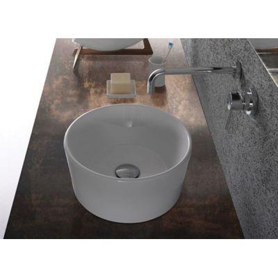 Globo Forty3 umywalka 35 cm nablatowa okrągła biała FO035.BI