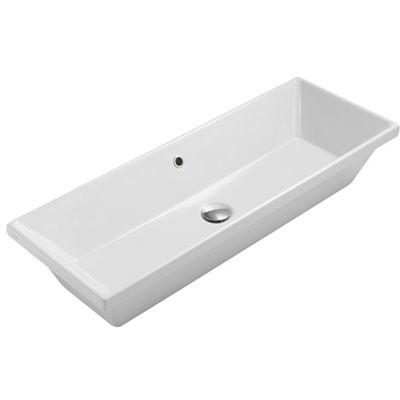 Globo Stockholm umywalka 90x34 cm biała FO090.BI