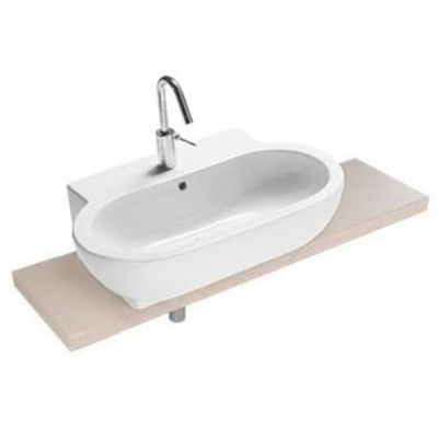 Hatria You & Me umywalka 70,3x44,5 cm nablatowa biała YXEN01