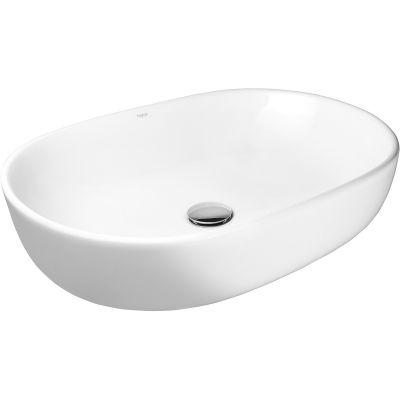 Hagser Adele umywalka 60,5x42,5 cm nablatowa owalna biała HGR40000040