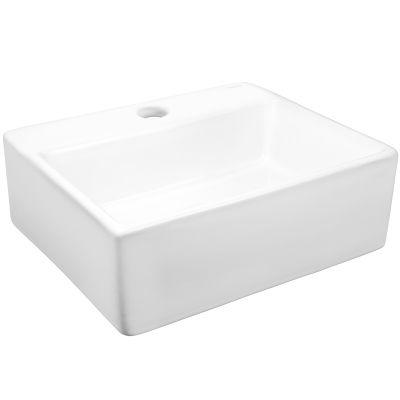 Hagser Doris umywalka 34x29,5 cm nablatowa prostokątna biała HGR4000041