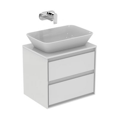 Ideal Standard Connect Air umywalka nablatowa 60x40 cm prostokątna biała E034801
