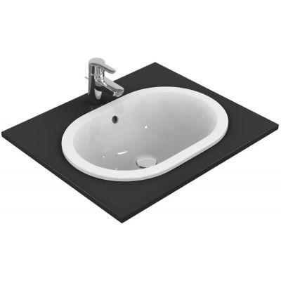 Ideal Standard Connect umywalka 55x38 cm wpuszczana w blat owalna biała E504701