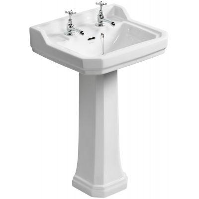 Ideal Standard Waverley umywalka 56x45,5 cm ścienna prostokątna biała U470201